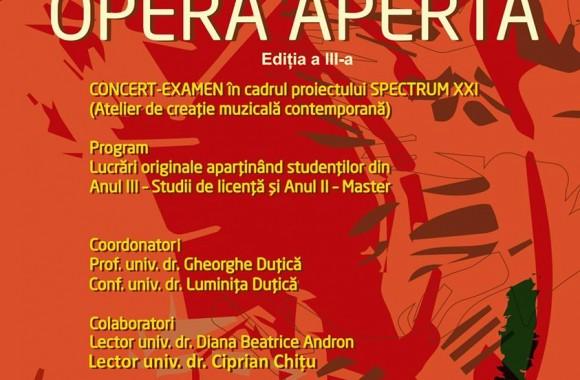 Afis Opera Aperta 2017